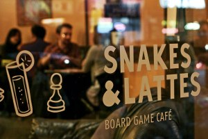 Snakes and lattes